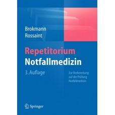 Brokmann, Repetitorium Notfallmedizin