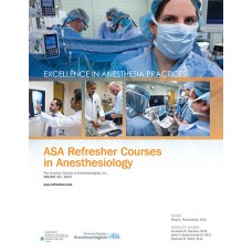 ASA Refresher Course in Anestehsiology, 2014