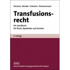 Deutsch, Transfusionsrecht
